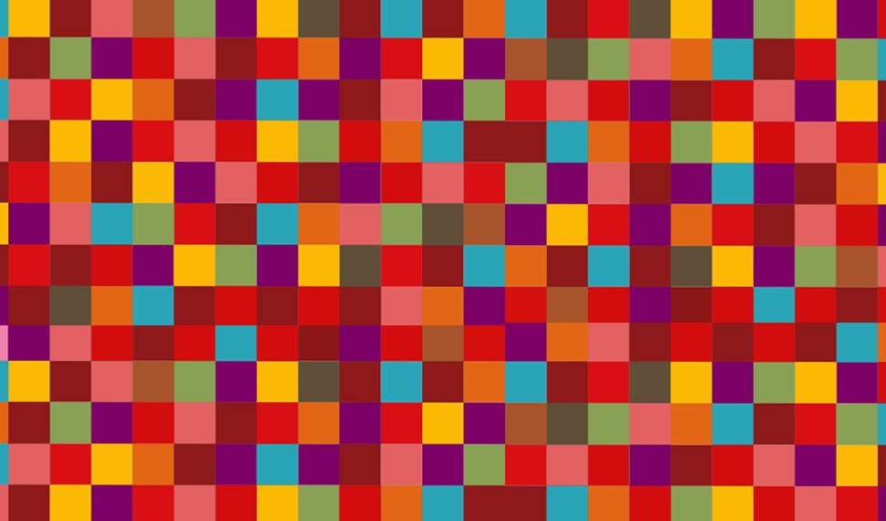 Coloured Tiled Checkered Background Kainat Desktop